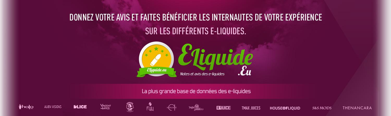 Trouvez vos e-liquides chez eliquide.eu