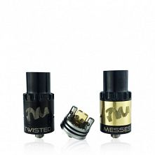 Dripper Twisted Messes RDA Noir & Or