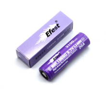 Efest purple 18650 - 3100 mAh